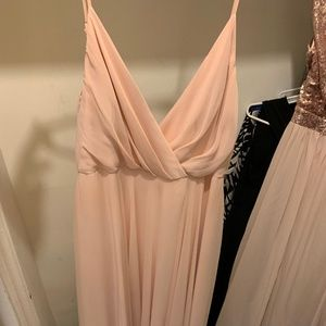 BHLDN BLUSH GOWN